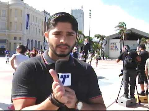 [TRIBUNA SHOW] MasterChef: primeiro dia de gracação no Marco Zero, Bairro do Recife