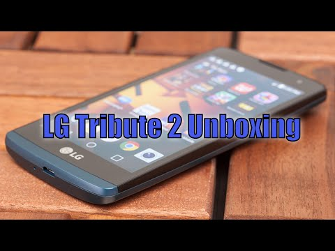 LG Tribute 2 Unboxing