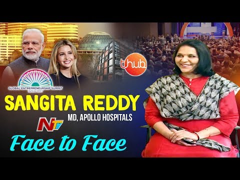 Apollo Group Joint Managing Director Sangita Reddy Face to Face || Global Entrepreneur Summit