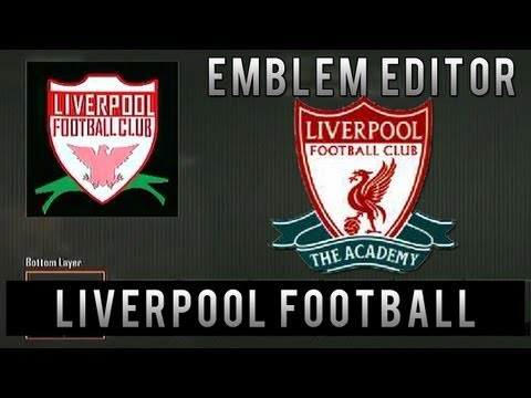 Black Ops 2 - Liverpool Football Club Emblem Tutorial