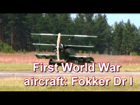 First World War aircraft: Fokker...