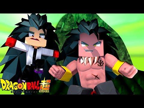 Minecraft: Who's Your Family?- YAMOSHI O DEUS LENDÁRIO ( Dragon Ball Super o Filme ) (видео)