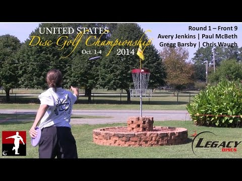The Disc Golf Guy – Vlog #240 – USDGC – First Round – McBeth, Jenkins, Barsby, Waugh
