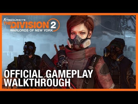 Tom Clancy's The Division 2: Warlords of New York: Official Gameplay Walkthrough   Ubisoft [NA]