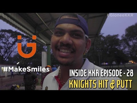 Knight Golf for Gionee | Inside KKR - Episode 28 | VIVO IPL 2016