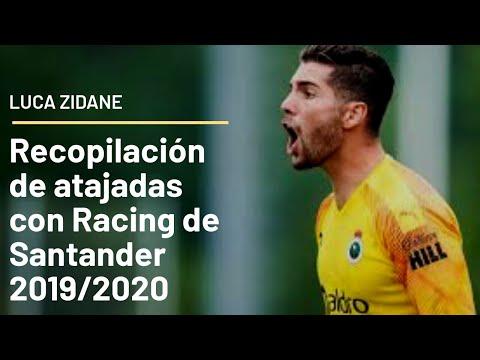 Atajadas de Luca Zidane | Racing Club de Santander...