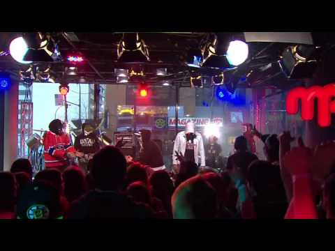 Hollywood Undead - Young & Everywhere I Go [Live At Musique Plus 2013]