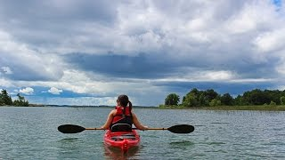 Kayaking in the 1000 Islands Ontario - Thousand Islands Canada
