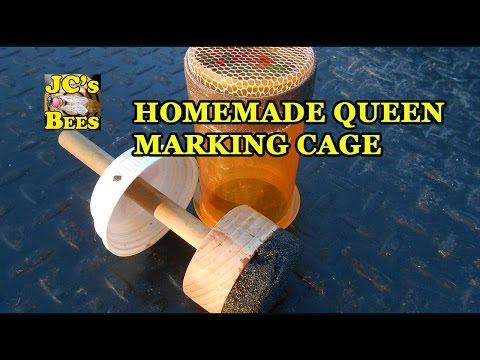 Homemade Queen Marking Cage