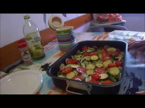 filetti di merluzzo al forno con verdure