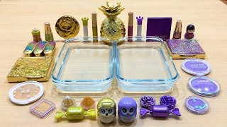 Video Special Series #12 PURPLE vs GOLD | Mixing Makeup Eyeshadow into Clear Slime! Satisfying Slime Video MP3, 3GP, MP4, WEBM, AVI, FLV Juni 2019