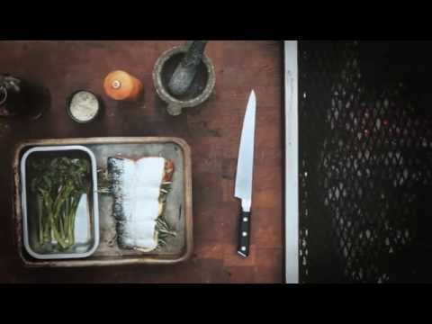Doppio filetto di salmone norvegese alla griglia