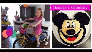 Hannahs 4. Geburtstag - Geschenke auspacken  ♥  Hannah Spezial