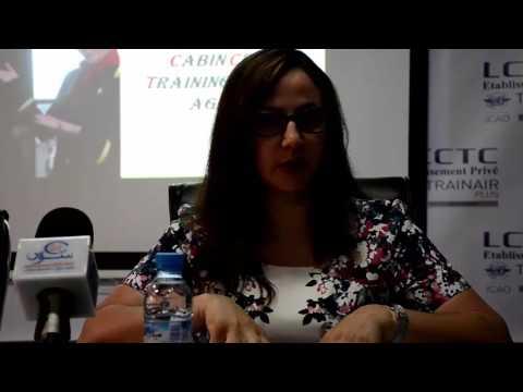 المديرة التربوية لمعهد لوميد لمضيفي ومضيفات الطيران بأكادير