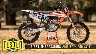 9. First Impressions: 2019 KTM 250 SX-F