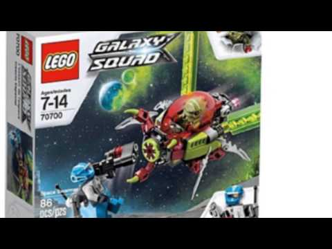 Video Todays video of the Lego Galaxy Squad 70700 Space Swarmer