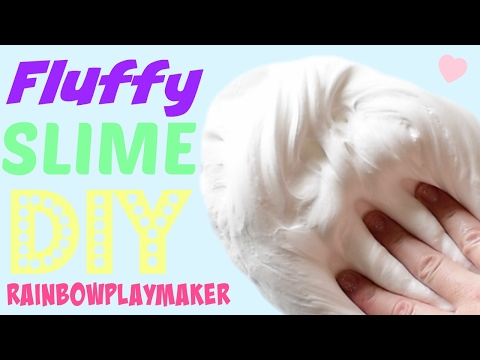 DIY THE BEST FLUFFY SLIME EVER!!! HOW TO Make Slime EASY TUTORIAL VIDEO