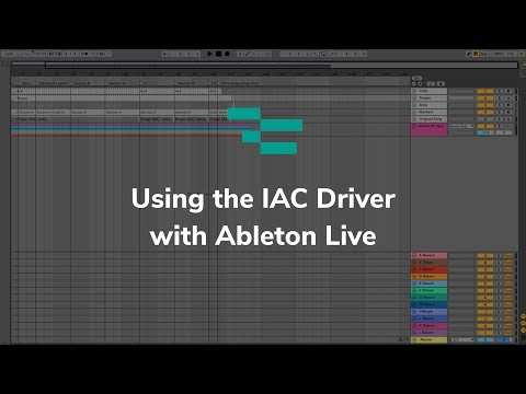 Using The IAC Driver With Ableton Live