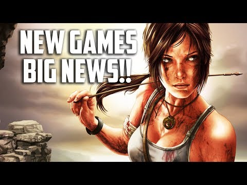 HUGE NEW GAME REVEALS + NEWS! Tomb Raider, Dark Souls Switch, and More!
