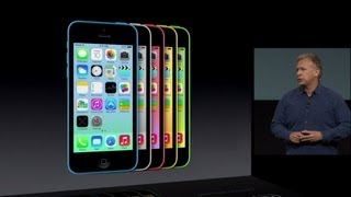 iPhone 5c introduction. On September 10, 2013, Apple announced the iPhone 5C. Which is a version of the iPhone 5. It was announced with the more high end iPhone 5S. Highlights include a bigger battery, colors and a new FaceTime HD camera. It is designed for the budget market therefore warranting the plastic casing.