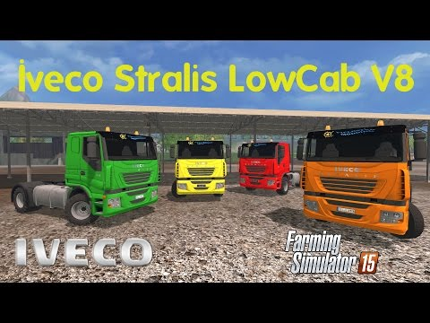 Iveco Stralis V8 LowCab v1.1