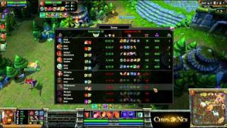 (HD105) -CHZ League- Oo vs TRI -Part 3- League Of Legends Replay