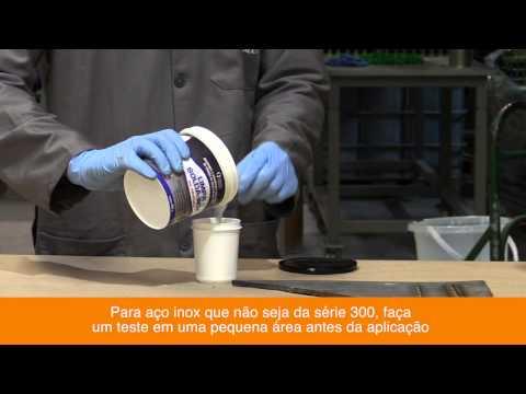 Vídeo: Limpa-Solda-Inox