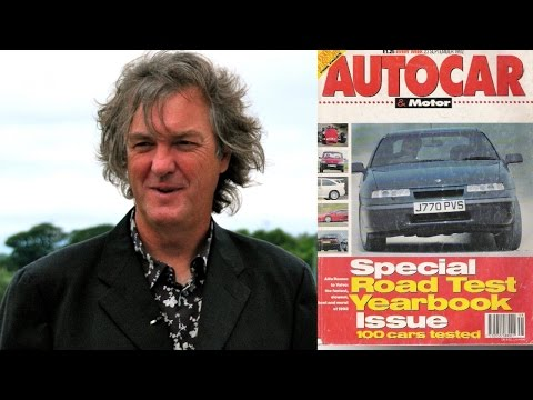 James May tries to remember why he was fired from Autocar