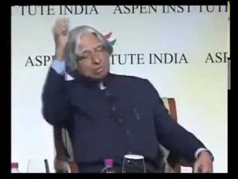 Dr. APJ Abdul Kalam during his last speech in Shillong College
