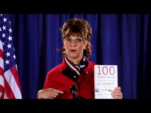 NEVER SEEN BLOOPERS - Sarah Palin book commercial on memory loss