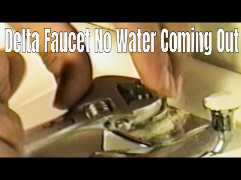 Delta faucet repair two handle