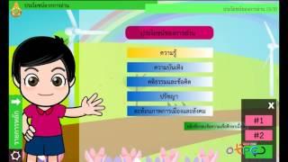 สื่อการเรียนการสอน ประโยชน์จากการอ่าน  ม.2 ภาษาไทย