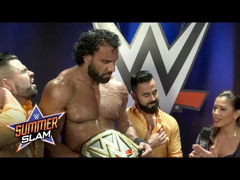 Jinder Mahal won't let anyone question his WWE Title reign: Exclusive, Aug. 20, 2017 (видео)