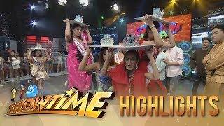 Video It's Showtime Cash-ya: Miss Q & A finalists joins Cash-Ya Kaya MP3, 3GP, MP4, WEBM, AVI, FLV Juli 2018