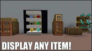Display ANY Item in Minecraft! (No Command Blocks/Mods)