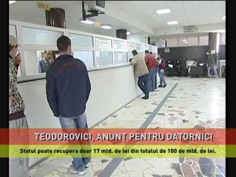 Teodorovici, anunț pentru datornici