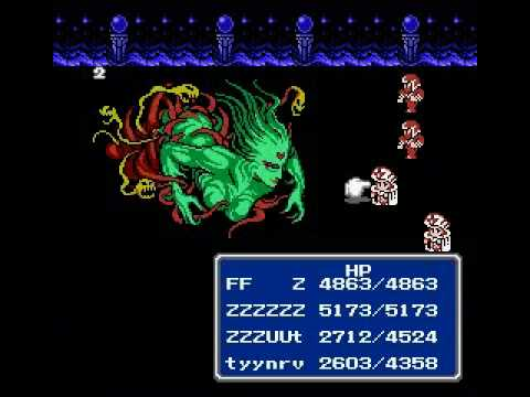 final fantasy iii nes game genie codes
