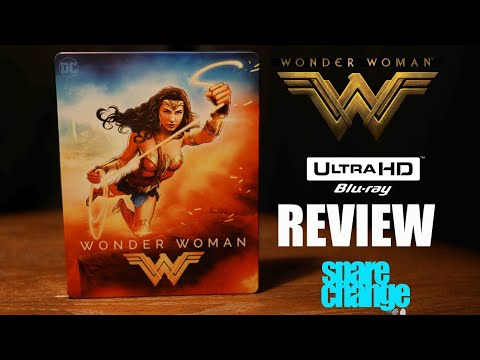 Wonder Woman 4K | 3D Bluray Review | Steelbook Unboxing | Dolby Atmos