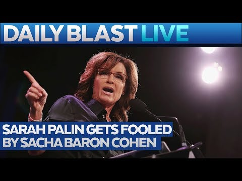 Sacha Baron Cohen Dupes Sarah Palin Dressed as Wounded Vet