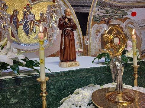 2018-09-23 2018-09-23 Vasárnapi szentmise a Gazdagréti Szent Angyalok Plébánián (Évközi 25. vasárnap)