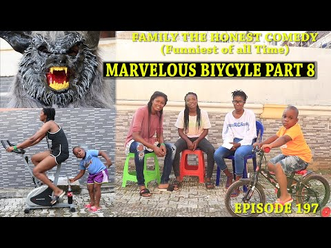 FUNNY VIDEO (MARVELOUS BICYCLE PART 8) (Family The Honest Comedy) (Episode 197)