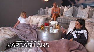 KUWTK   Can Kim, Khloé & Kourtney Kardashian Hash Out Their Differences?   E!