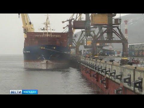 Реконструкцию пятого причала Морского торгового порта собираются завершить до конца июня. - DomaVideo.Ru
