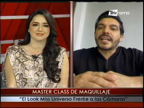 Master Class de Maquillaje El Look Miss Universo Frente a las Cámaras