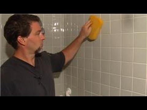 Ceramic tile shower cleaner