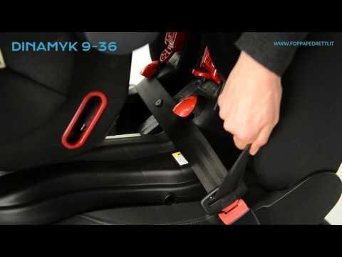 Foppapedretti: seggiolino auto Dinamyk fissaggio in auto Gruppo 1 (da 9 a 18 kg)