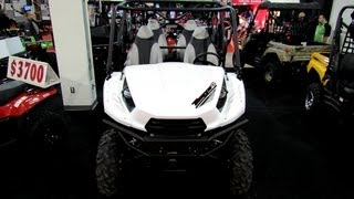 9. 2013 Kawasaki Teryx4 - Side by Side ATV - 2012 Salon National du Quad - Laval, Quebec, Canada