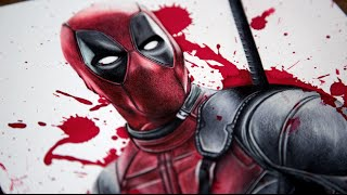 Deadpool Speed Drawing