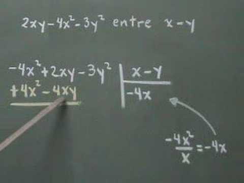 Vídeos Educativos.,Vídeos:División de polinomios II