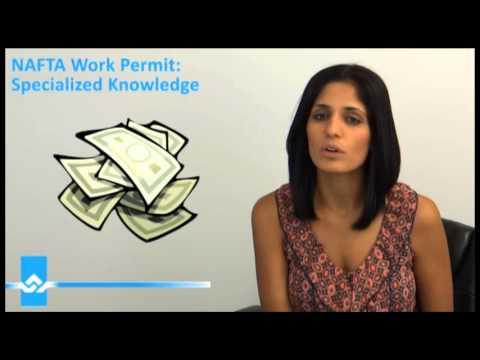 NAFTA Work Permit Specialized Knowledge Video
